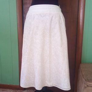 Croft and Barrow A-line Skirt